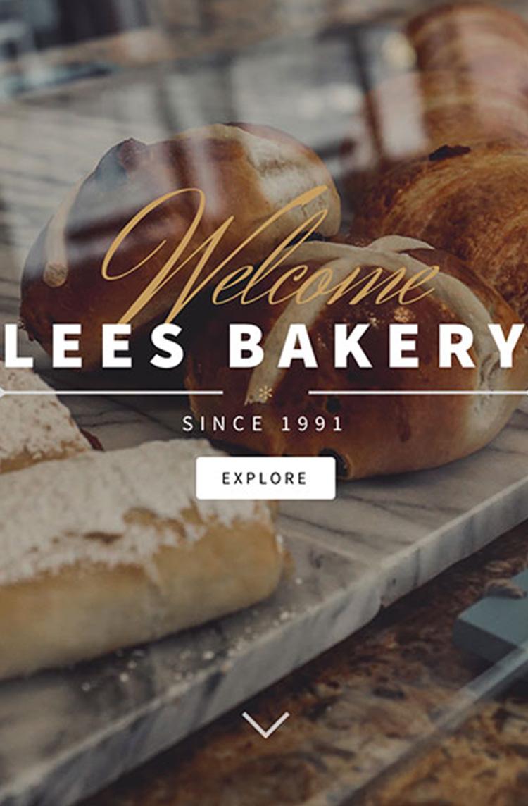 lees bakery wordpress